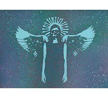 skull angel Photographic Print