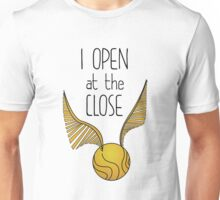 Open at the close Unisex T-Shirt