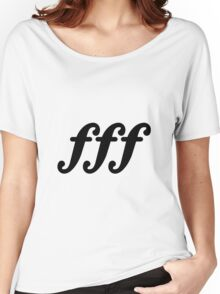 forte fortissimo Women's Relaxed Fit T-Shirt