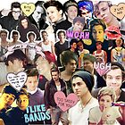 1d and 5sos Collage Edit  by maddiedrawings