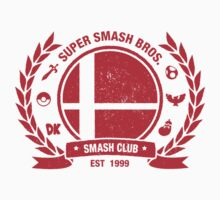 Smash Club Ver. 2 (Red) by Bryant Almonte Design