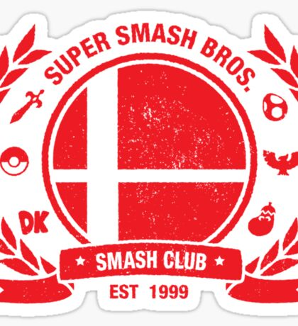 Smash Club Ver. 2 (Red) Sticker