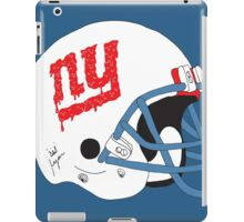 NY Giants Helmet Drips iPad Case/Skin