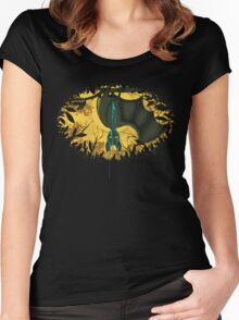 WET DREAM Women's Fitted Scoop T-Shirt