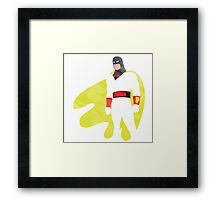 Project Silhouette 2.0: Space Ghost Framed Print