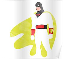 Project Silhouette 2.0: Space Ghost Poster