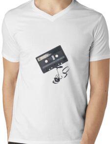 tape cassette Mens V-Neck T-Shirt