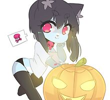 Lily Chibi Halloween by ProofMe