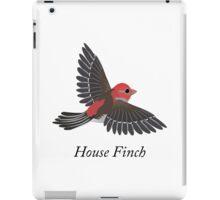 House finch iPad Case/Skin