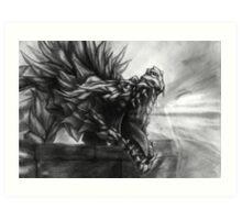 Ancient Shadow Unbound Art Print