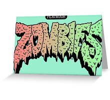 Flatbush Zombies hoodie Greeting Card
