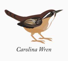 Carolina Wren Kids Tee