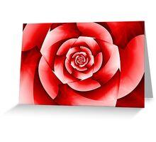 Rosie Red Greeting Card