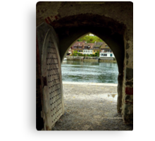 Kloster Archway Canvas Print