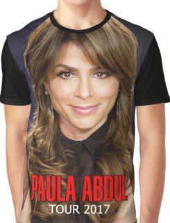 Natarudin05 PAULA ABDUL Tour 2017 Graphic T-Shirt