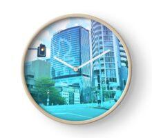 Pastel Brisbane City - Brisbane River Tower Clock