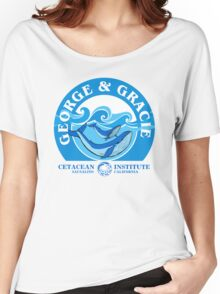 George And Gracie (Cetacean Institute) : Inspired by Star Trek IV : The Voyage Home Women's Relaxed Fit T-Shirt