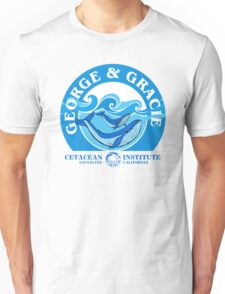 George And Gracie (Cetacean Institute) : Inspired by Star Trek IV : The Voyage Home Unisex T-Shirt