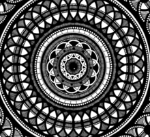 Circular Oblivion Sticker