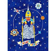Cosmic voyage Photographic Print