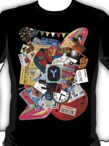Back to the Future Trilogy MIX (saturated version) T-Shirt