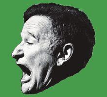 Robin Williams funny scream Kids Tee
