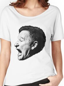 Robin Williams funny scream Women's Relaxed Fit T-Shirt