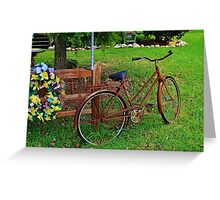 A Little Rusty Greeting Card