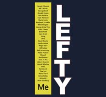 Lefty t-shirt by BridgetVonBriel