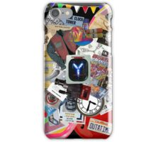 Back to the Future Trilogy MIX iPhone Case/Skin