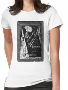 Victorian Cabinet Card Womens Fitted T-Shirt