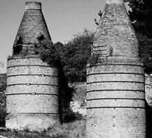Historic Bottle Kilns, Portland NSW by Deborah McGrath