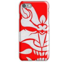 White Oni iPhone Case/Skin