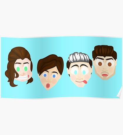 Funny Faces Poster
