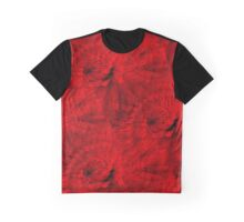Red Hot Dahlia Flower Abstract  Graphic T-Shirt