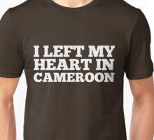 I Left My Heart In Cameroon Love Native Homesick T-Shirt Unisex T-Shirt