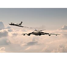Victor and Vulcan Photographic Print