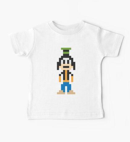 Goofy 8-Bit Baby Tee