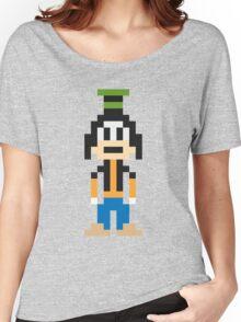 Goofy 8-Bit Women's Relaxed Fit T-Shirt