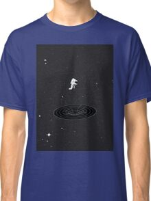 Interstellar - falling in worm hole Classic T-Shirt