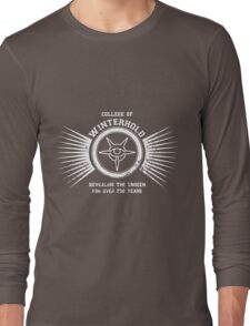 College of Winterhold - Jersey Style #3 Long Sleeve T-Shirt