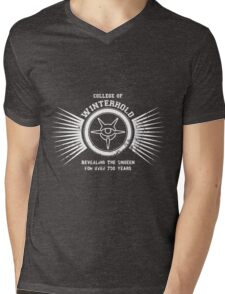 College of Winterhold - Jersey Style #3 Mens V-Neck T-Shirt