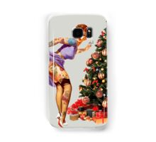 Christmas Pin-Up - Light up your Christmas Samsung Galaxy Case/Skin