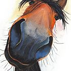 HAPPY HORSE 'HAPPY DAVE' BY SHIRLEY MACARTHUR by Shirley MacArthur