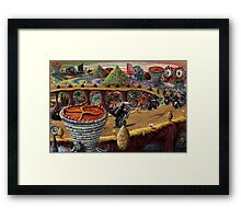 The Commodity of Freedom Framed Print
