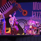 Charles Lloyd's Band by Sandra Gray