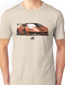 lamborghini huracan - orange and black top Unisex T-Shirt