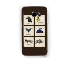 Fantastical Creatures Samsung Galaxy Case/Skin