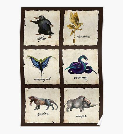 Fantastical Creatures Poster