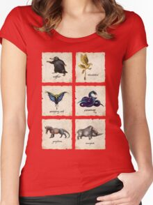 Fantastical Creatures Women's Fitted Scoop T-Shirt